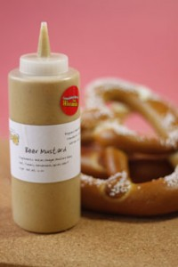 Mustard WIth Pretzel