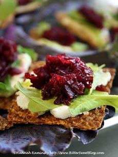 Beet Marmalade & Goat Cheese Recipe