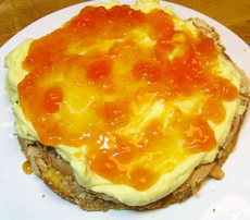 Torte With Preserves