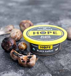 Hope Black Garlic Hummus