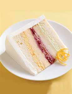 Cake Layers With Different Fillings