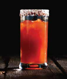 Bloody Mary Beer Cocktail