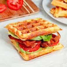 BLT Waffles