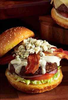 Blue Cheese Cheeseburger