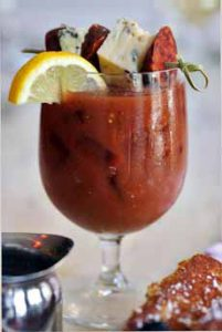 Bloody Mary With Pepperoni