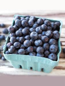 Pint Of Fresh Blueberries