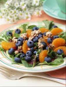 Blueberry Breakfast Salad