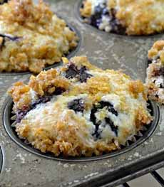 Blueberry Muffin Casserole