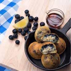 Bantam Blueberry Pancakes