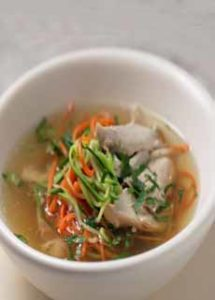 Broth With Vegetables