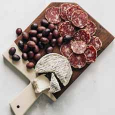 Cheese, Olives, Salame