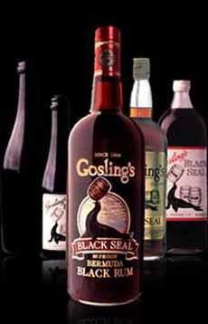 Gosling's Rum Bottles