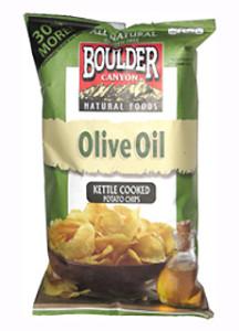 Boulder Canyon Olive Oil Chips
