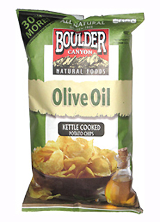 Boulder Canyon Olive Oil Chips