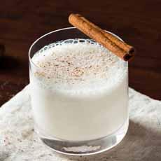 Bourbon Milk Punch
