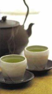 Japanese Green Tea & Pot