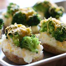 Broccoli Stuffed Potato