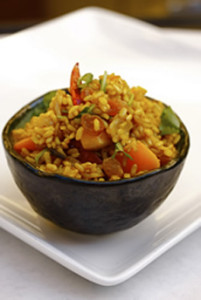 Shimp Fried Rice With Brown Rice