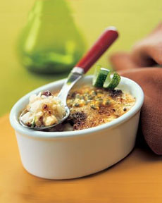 Rice Pudding Brulee