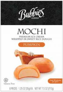 Bubbie's Pumpkin Mochi