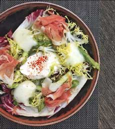 Burrata Salad  Recipe