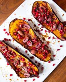 Butternut Squash With Harissa