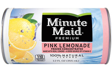 Minute Maid Pink Lemonade Concentrate