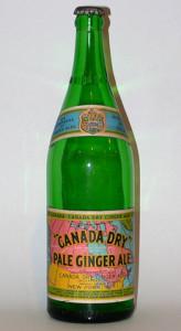 Old Ginger Ale Bottle