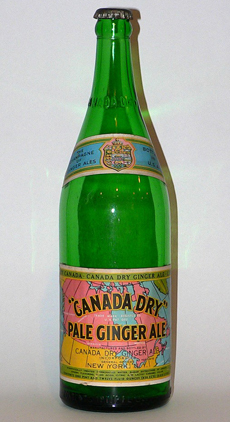 Old Ginger Ale Bottle