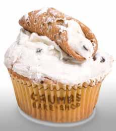 Cannoli Cupcake