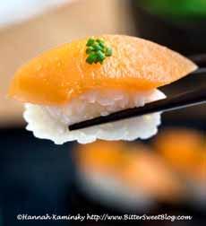 Cantaloupe Sushi