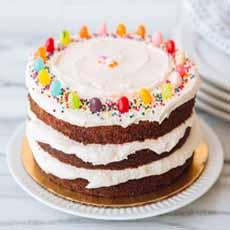 Easter Naked Cake