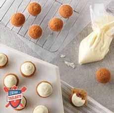Mini Carrot Cupcakes Recipe