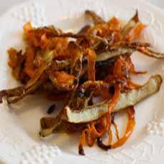 Carrot Peel Chips