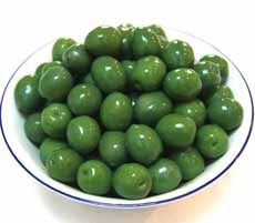 Castelvetrano Olives In Bowl