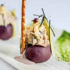 Causa Morada Appetizer
