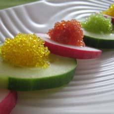 Cucumber & Tobiko Caviar