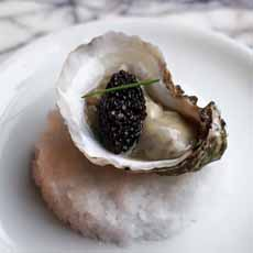 Oyster With Caviar