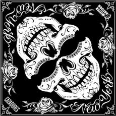 Mister Cartoon Skull Bandana