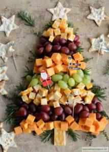 Cheese Christmas Tree
