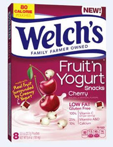Welch's Fruit 'n Yogurt - Cherry