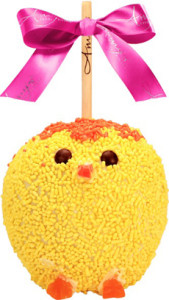 Easter Chick Chocolate Apple