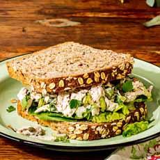 Chicken Salad Sandwich With Yogurt