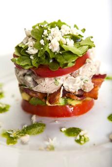 Stacked Cobb Salad