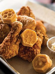 Fancy Chicken & Waffles