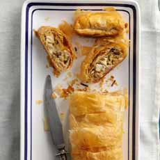 Chicken & Wild Rice Strudel