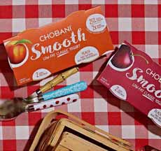 Chobani Smooth Cartons