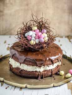 Naked Easter Cake