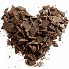 Chopped Chocolate Heart