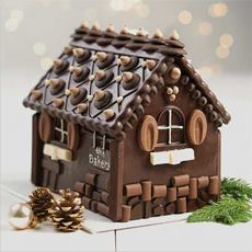 Chocolate Holiday House